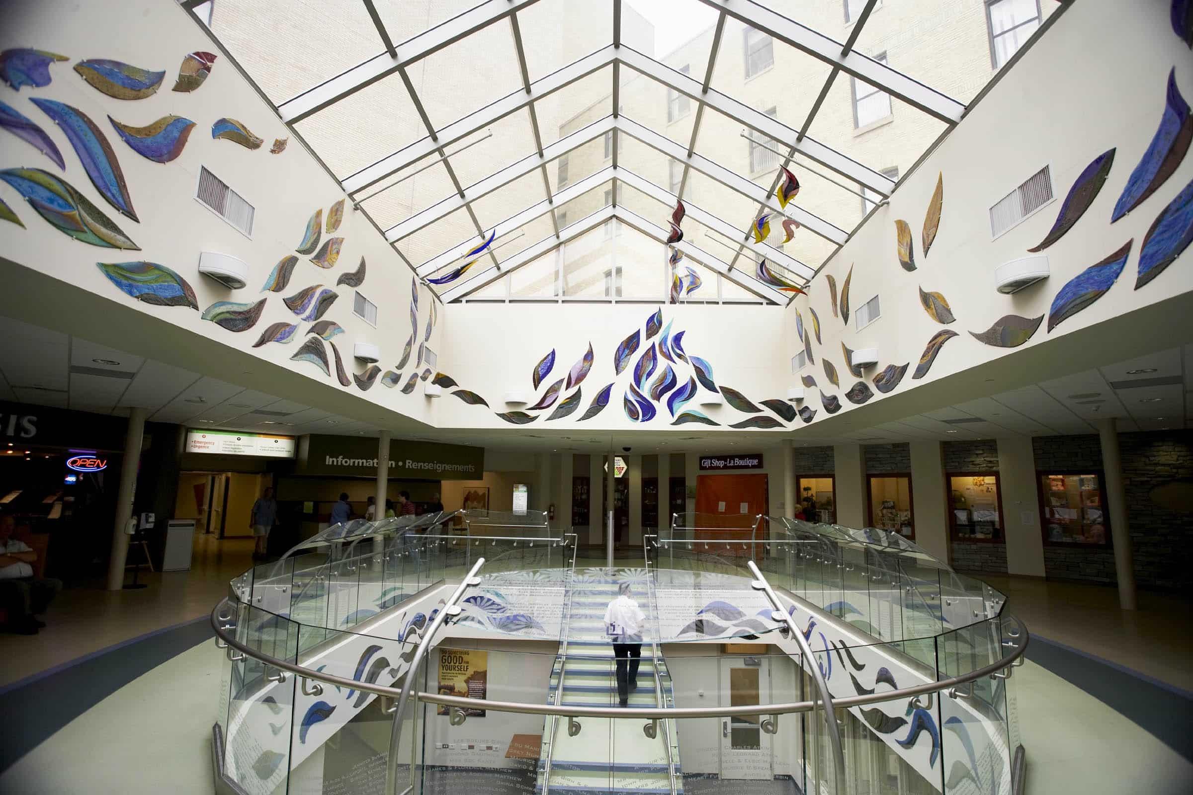 Odyssey St. Boniface  atrium George W. Shannon